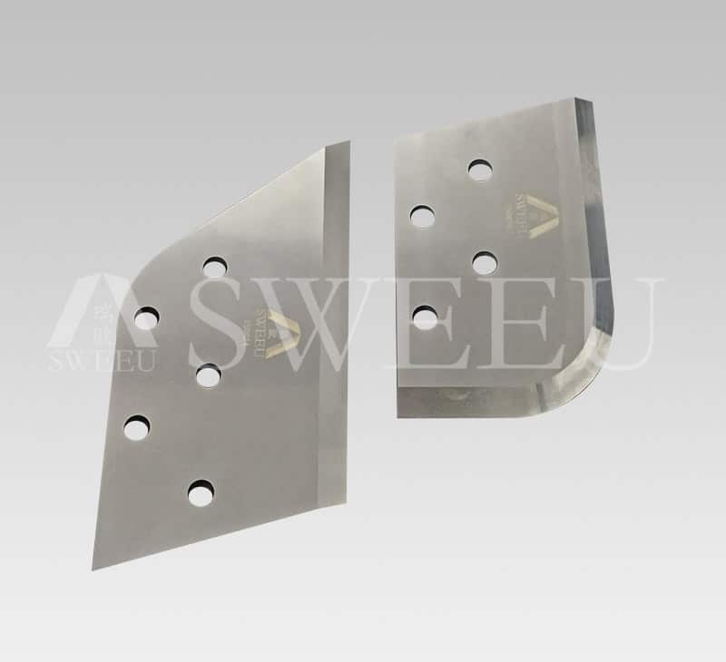 LH/RH Densifier Blades For Plastic Recycling